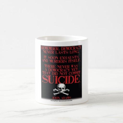 Suicidio Tazas
