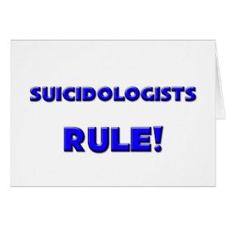 Suicidologists Rule! Card