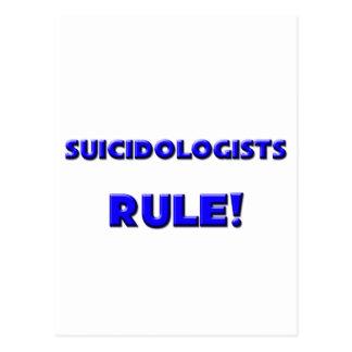 Suicidologists Rule! Postcard