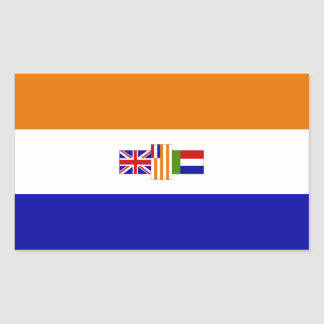 Suid-Afrika Rectangular Sticker