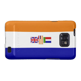 Suid-Afrikaanse Vlag Samsung Galaxy SII Fundas