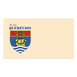 Suis Quebecois de Je Tarjetas De Visita