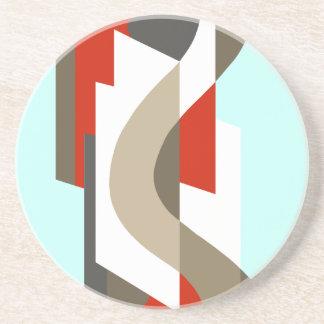 SUISSE: Art déco Moderne: Oficina de los años 60,  Posavasos Manualidades