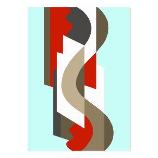 SUISSE Art déco Moderne Oficina de los años 60 Plantilla De Tarjeta De Visita