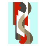 SUISSE: Art Deco Moderne: Sixties Office, Mad Men Business Card