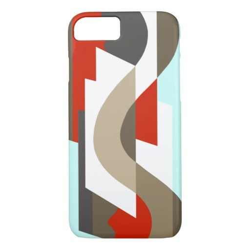 SUISSE: Art Deco Moderne: Sixties Office, Mad Men iPhone 8/7 Case