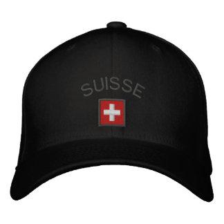 Suisse Hat - Switzerland Cap With Swiss Flag