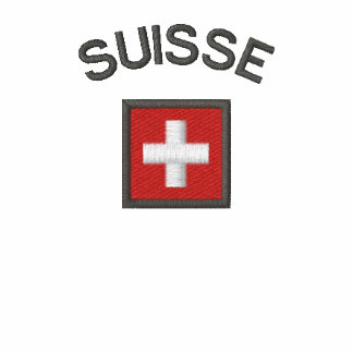 Suisse Mens Polo With Switzerland Pocket Flag