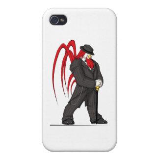 suit1Grey iPhone 4 Cárcasa