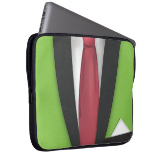 Suit and Tie Laptop Computer Sleeve