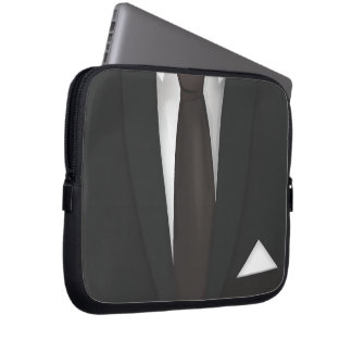 Suit and Tie Laptop Sleeve