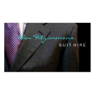 Suit Designed BUsiness Card