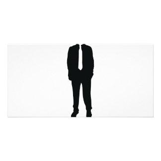 suit headless no head card