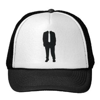 suit headless no head mesh hats