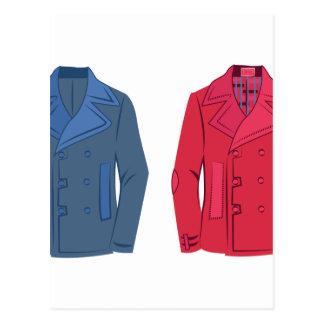 Suit Jackets Postcard