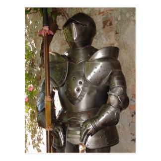 Suit of Armor Postcard