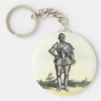 Suit of armor with backdrop keychain