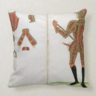 Suit of Armour for Lord Compton, from 'An Elizabet Throw Pillows