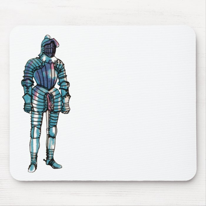 Suit of Armour Mouse Pad