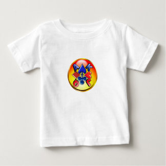 suit-round-1 baby T-Shirt