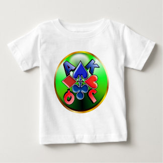 suit-round-2 baby T-Shirt