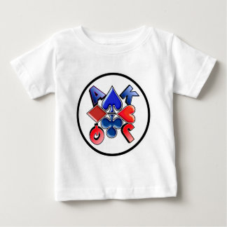 suit-round-3 baby T-Shirt