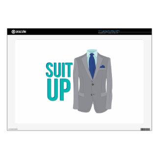 """Suit Up 17"""" Laptop Skin"""
