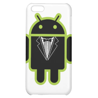 Suit up Android green iPhone 5C Cases