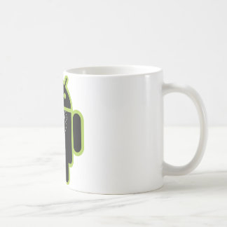 Suit up Android green Coffee Mug