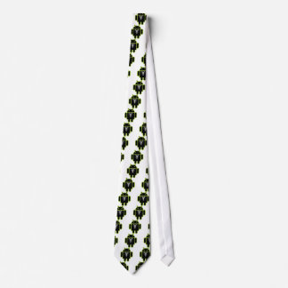 Suit up Android green Neck Tie