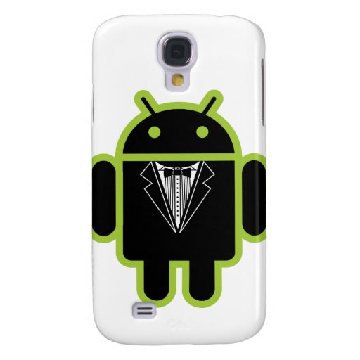 Suit up Android green Samsung Galaxy S4 Covers