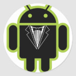 Suit up Android green Stickers