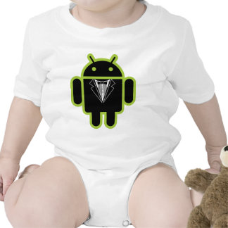 Suit up Android green Tee Shirt