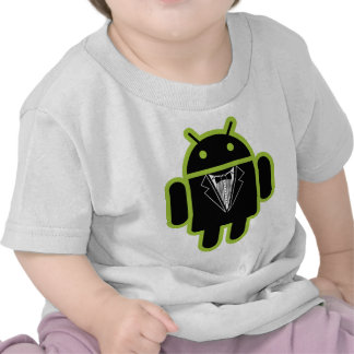 Suit up Android green Tees