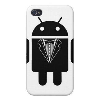 Suit up Android iPhone 4/4S Cover