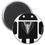 Suit up Android Magnets
