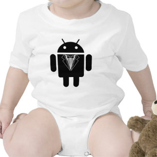 Suit up Android Baby Creeper