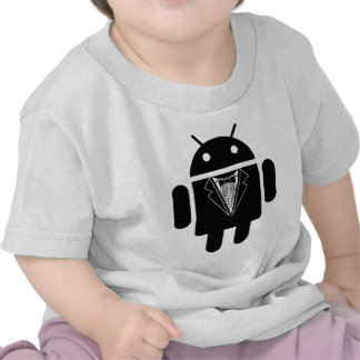 Suit up Android Shirts