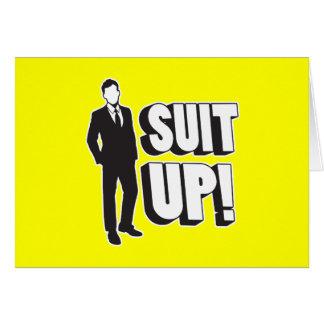 Suit Up! Card