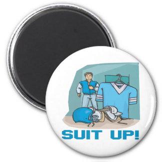 Suit Up Magnet