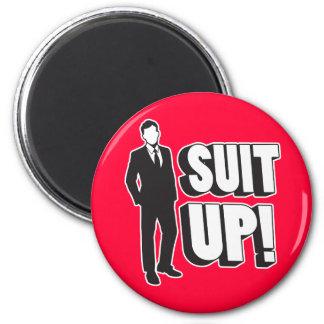 Suit Up! Fridge Magnets