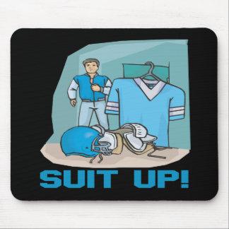 Suit Up Mouse Pad