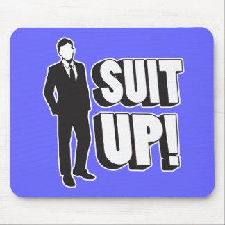 Suit Up! Mouse Pad