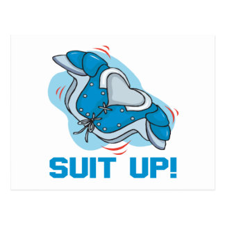 Suit Up Post Cards