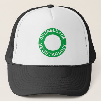 Suitable For Vegetarians Trucker Hat