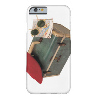 Suitcase , beret , map , and sunglasses barely there iPhone 6 case