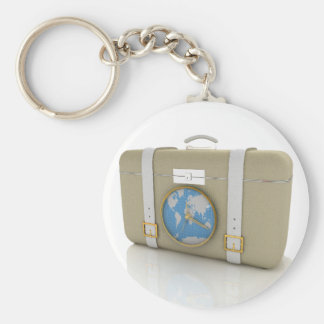 Suitcase For Travel Keychain