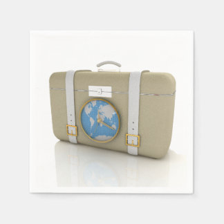 Suitcase For Travel Paper Napkins