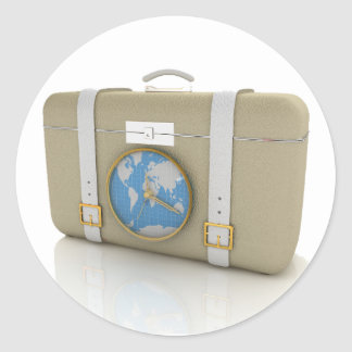 Suitcase For Travel Stickers