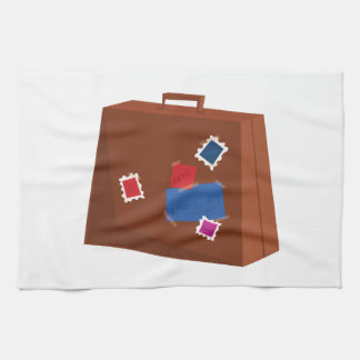Suitcase Hand Towel